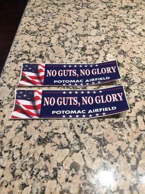 Two Airfield bumper stickers for Sale in Los Angeles, CA
