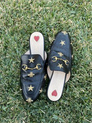 Gucci Princetown embroidered leather slipper for Sale in Garden Grove, CA