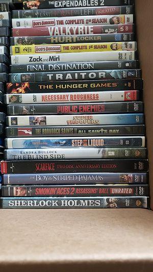 Dvds $1 each 6 for 5 for Sale in Virginia Beach, VA