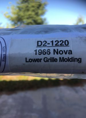 19)(7 Chevy NovaI. II Lower grill Molding for Sale in Temecula, CA