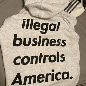 Supreme Illegal business hoodie for Sale in Philadelphia, PA