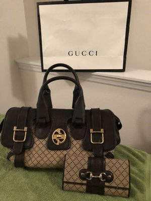 Authentic Gucci bag & Wallet for Sale in Riverview, FL