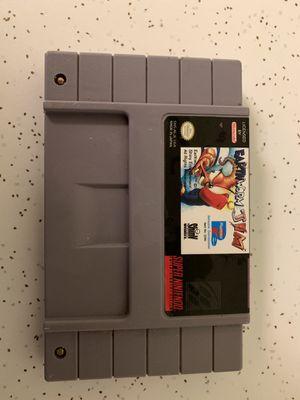 Earthworm Jim Super Nintendo for Sale in Greenwood, IN