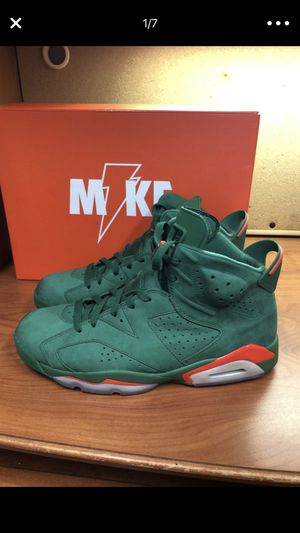 "Jordan retro 6 ""Gatorade's"" Men's size 11 for Sale in Coronado, CA"