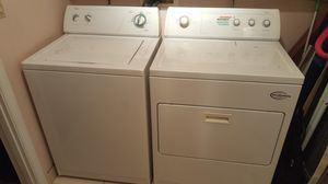Whirpool washer and dryer set great condition for Sale in Deerfield Beach, FL