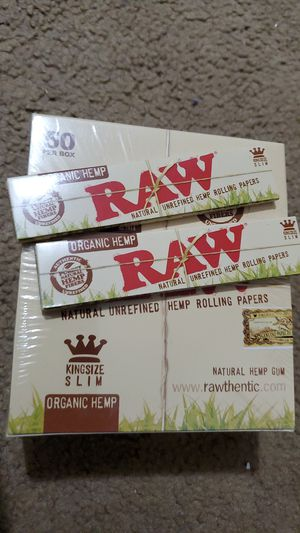 King size organic raw 50 pack for Sale in Providence, RI