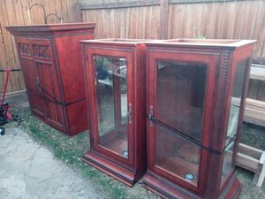 Free tv stand/cabinets for Sale in Wheat Ridge, CO
