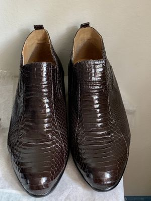 Giorgio Brutini Dark Brown Snake Skin Boots Sz13 for Sale in Mountain View, CA