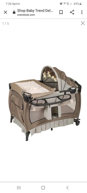 Baby trend playard with bassinet for Sale in Poinciana, FL