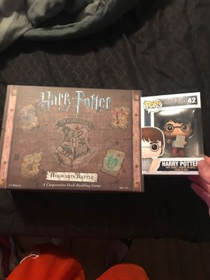 Harry Potter Board Game and Figurine for Sale in Kennewick, WA