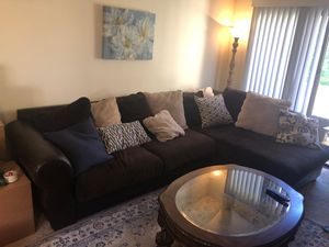 Sectional Couch with Coffee table for Sale in Sunnyvale, CA