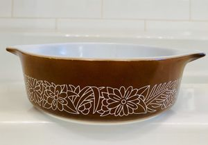 Vintage Pyrex Brown Woodland Bakeware for Sale in Seattle, WA