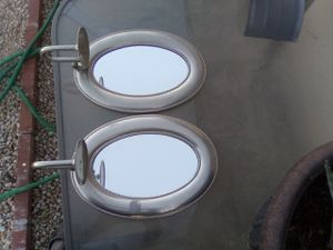 Silver mirrored candle holders for Sale in Phoenix, AZ