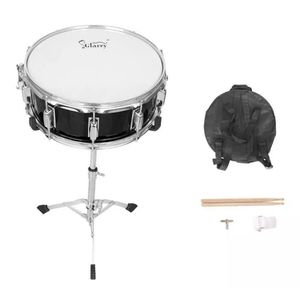"""🔥 NEW New Black Snare Drum Poplar Wood Drum 14 x 5.5"""" with Drumsticks Bag & Stand for Sale in Coral Gables, FL"""