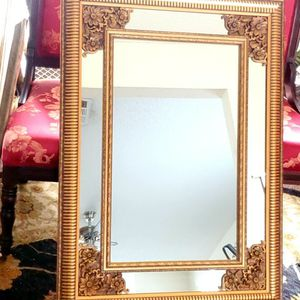 Decorative Large Wall Gold Mirror for Sale in Stonecrest, GA