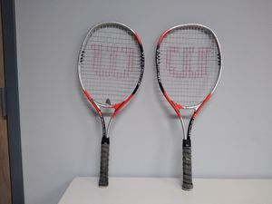 Wilson Titanium Rackets , Very Good Condition for Sale in West Palm Beach, FL