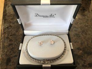 Diamon Art bracelet & earring set for Sale in Chino Hills, CA