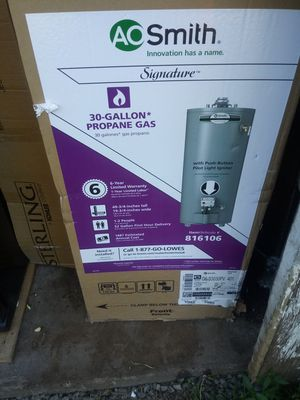Brand new in box propane gas hot water heater for Sale in York Haven, PA