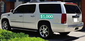 🍁$1.000 Good running vehicle 2OO8 Escalade ❗Urgent❗$1OOO🍁 for Sale in West Haven, CT
