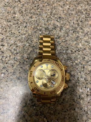 Invicta All Gold Watch for Sale in Azusa, CA