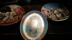 3 precious moments plates. for Sale in Edmond, OK