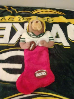 Greenbay Packers Stocking for Sale for sale  Lake Geneva, WI