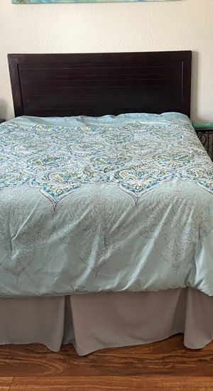 Full Size Bed & Serta Memory Foam Mattress for Sale in Denver, CO
