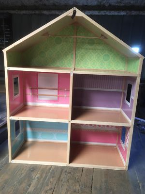 My Girls' Wooden Dollhouse for 18'' Dolls - Dollie & Me Style for Sale in Houston, TX