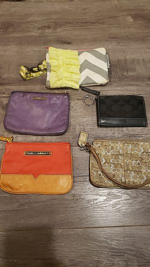 Coin Purse - Lot of 5 - Rebecca Minkoff, Coach, Marine Parents for Sale in Lakewood, CA