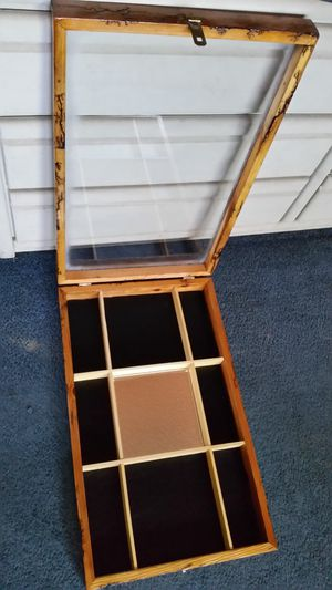 Upcycled shadow box with mirror center for Sale in Payson, AZ