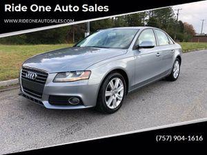 2011 Audi A4 for Sale in Norfolk, VA
