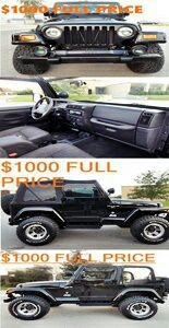 ◆◆◆◆◆PerfectCondition _Price:$1000___***Year**2001 ** Jeep** Wrangler Sport***Original*** Paint_____Price:$1000_◇◇◇◇◇ for Sale in New York, NY