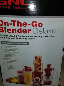 Gnc On The Go Blender for Sale in Baldwin,  NY
