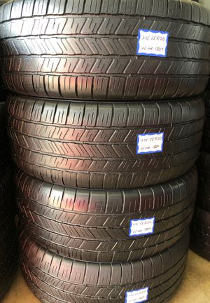👨🏻🔧🚘SET OF 4 USED TIRES👨🏻🔧🚘 275/55/20 GOODYEAR •EXCELLENT CONDITION• for Sale in Lakewood, CA
