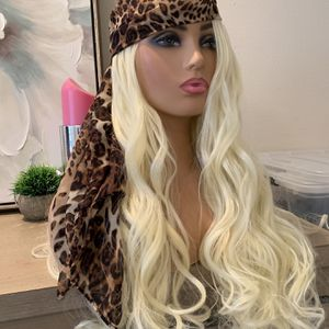 Scarf Head Wrap LONG thick Wig Combo for Sale in Los Angeles, CA