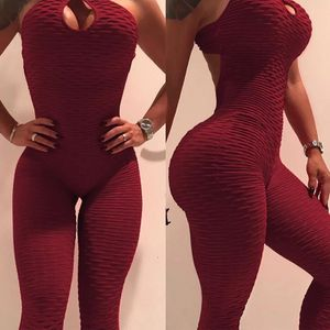 Sexy burgundy yoga workout gym Jumpsuit for Sale in Washington, DC