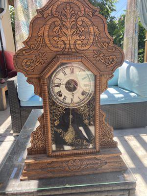 Antique Mantle Pendulum Clock for Sale in Glendora, CA