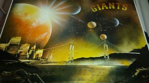 Giants painting for Sale in Modesto, CA