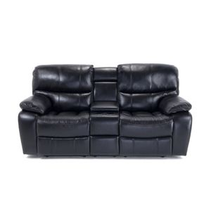 Recliner leather couch sofa with Warranty for Sale in Quincy, MA