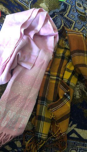 Womens scarfs take both for $7 for Sale in San Bernardino, CA