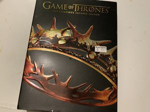 Game of Thrones Season 2 Full Disc Collection for Sale in Saint Charles, MO