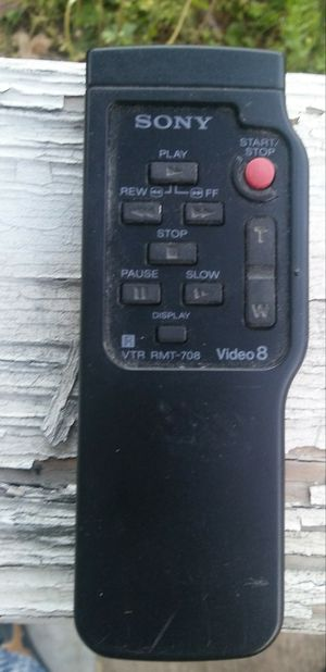 2 Sony Handycam Remotes for Sale in South Hill, VA