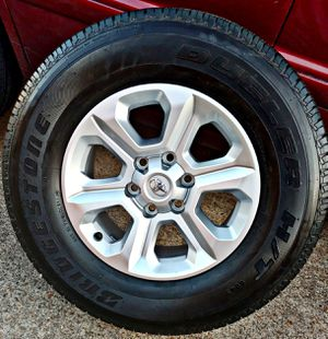 2020 TOYOTA 4-RUNNER RIMS & BRAND NEW TIRES ____ 20 MILES !! for Sale in Houston, TX