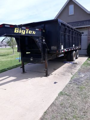 💥🔥18ft hydronic dump gooseneck trailer for sale🔥💥 for Sale in Garland, TX