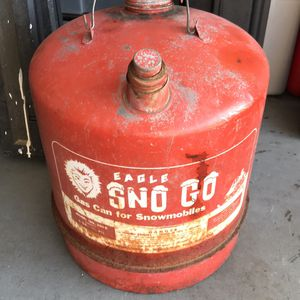 Sno Go Gas Can (Antique) for Sale in Fort Myers, FL