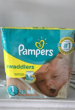 Pampers swaddlers diapers all sizes at discount price. 200 diapers size 1 for Sale in Annapolis, MD