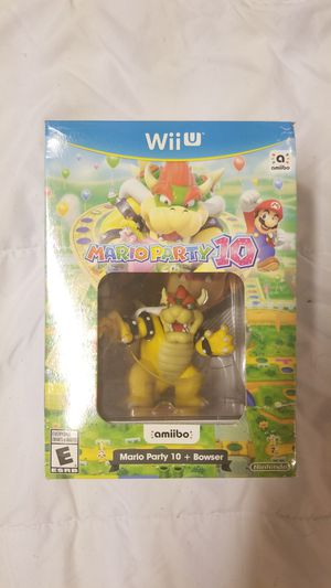 Mario party 10 for Wii U for Sale in Martinsburg, WV