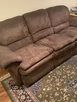 Couch With 2 Recliners , Partley Used for Sale in Jamesburg,  NJ