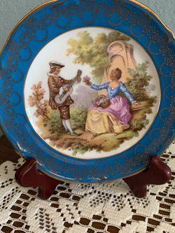 Limoges France Vintage Porcelain Small Plate Signed FRAGONARD for Sale in Wyoming,  MI