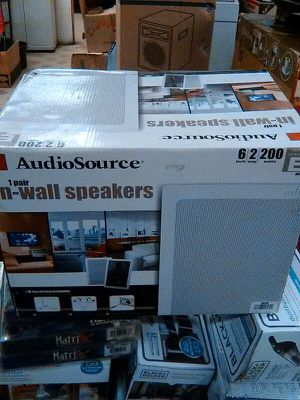 Audio source in wall speakers for Sale in Philadelphia, PA